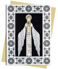 Byzantine (Erté) Greeting Card: Pack of 6