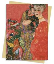 Gustav Klimt - Woman Friends Greeting Card: Pack of 6