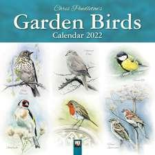 Chris Pendleton Garden Birds Wall Calendar 2022 (Art Calendar)