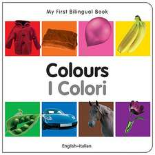 My First Bilingual Book - Colours - English-italian