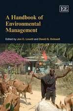 A Handbook of Environmental Management