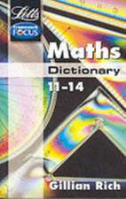 Letts Maths Dictionary 11-14:  Misadventures on a Bike in Wales