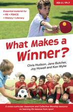 What Makes a Winner?
