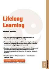 Lifelong Learning: Life and Work 10.06