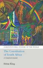 The Constitution of South Africa: A Contextual Analysis