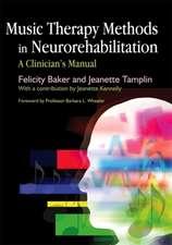 Music Therapy Methods in Neurorehabilitation
