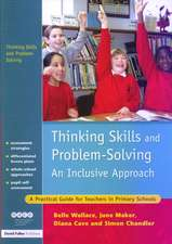 Thinking Skills and Problem-Solving - An Inclusive Approach