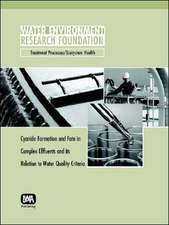 Cyanide Formation and Fate in Complex Effluents and Its Relation to Water Quality Criteria