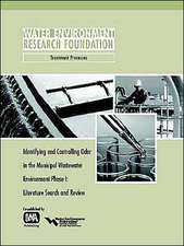 Identifying and Controlling Municipal Wastewater Odor Phase I:  Literature Search and Review