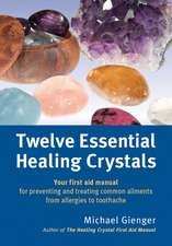 Twelve Essential Healing Crystals: Your first aid manual for preventing and treating common ailments from allergies to toothache