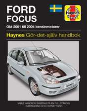 Ford Focus (2001 - 2004) Haynes Repair Manual (svenske utgava)