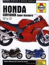Honda CBR1100XX Super Blackbird Service and Repair Manual