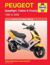 Peugeot Speedfight, Trekker (TKR) and Vivacity Service and Repair Manual
