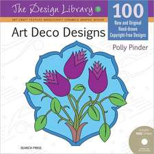 Design Library: Art Deco Designs (Dl05)