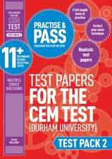 Williams, P: Practise and Pass 11+ CEM Test Papers - Test Pa