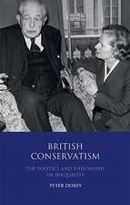 British Conservatism: The Politics and Philosophy of Inequality