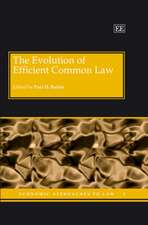 The Evolution of Efficient Common Law
