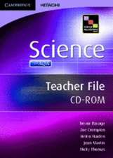 Science Foundations Science Teacher File CD-ROM