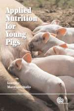 Applied Nutrition for Young Pigs