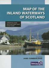Map of the Inland Waterways of Scotland:  Rules, Hazards, Distances, and Places Between Margaret Ness and Putney Bridge