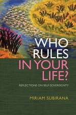Who Rules in Your Life?:  Reflections on Personal Power