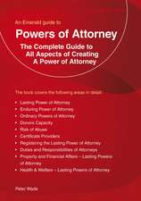 An Emerald Guide To Powers Of Attorney