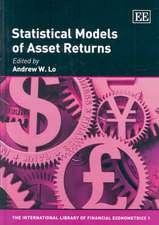 Statistical Models of Asset Returns