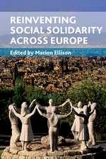 Reinventing Social Solidarity across Europe