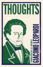Leopardi, G: Thoughts