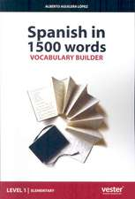 Spanish in 1500 Words, Vocabulary Builder