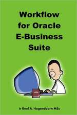 Workflow for Oracle E-Business Suite