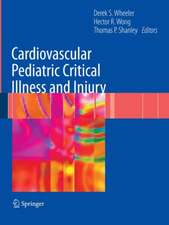 Cardiovascular Pediatric Critical Illness and Injury