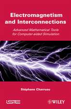 Electromagnetism and Interconnections: Advanced Mathematical Tools for Computer–aided Simulation