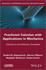 Fractional Calculus with Applications in Mechanics: Vibrations and Diffusion Processes