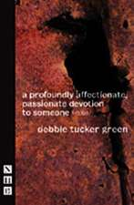 a profoundly affectionate, passionate devotion to someone (-noun)