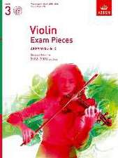 Violin Exam Pieces 2016-2019, ABRSM Grade 3, Score, Part & CD: Selected from the 2016-2019 syllabus