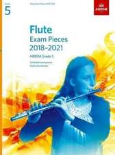 Flute Exam Pieces 2018-2021, ABRSM Grade 5: Selected from the 2018-2021 syllabus. Score & Part, Audio Downloads