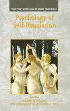 Psychology of Self-Regulation