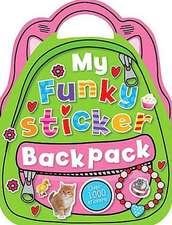 My Funky Sticker Backpack