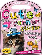 Carry-Me:  Cutie Corner Sticker Activity Book