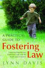 A Practical Guide to Fostering Law:  Fostering Regulations, Child Care Law and the Youth Justice System