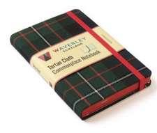 Ferguson: Waverley Genuine Tartan Cloth Commonplace Notebook (9cm x 14cm)