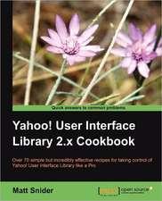 Yahoo User Interface 2.X Cookbook