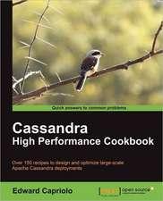 Cassandra High Performance Cookbook