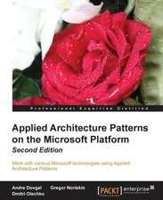 Appliedarchitecturepatternsonthemicrosoftplatform