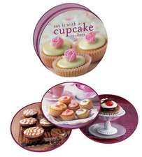 Say It with a Cupcake Coasters