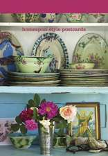 Homespun Style Postcard Book