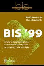 BIS '99: 3rd International Conference on Business Information Systems, Poznan, Poland 14-16 April 1999