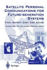 Satellite Personal Communications for Future-generation Systems: Final Report: COSY 252 Action
