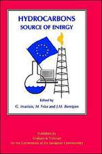 Hydrocarbons: Source of Energy